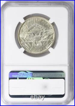 1936 Arkansas Commemorative Silver Half Dollar NGC MS-65 Mint State 65