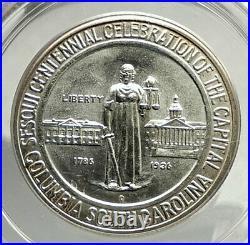 1936 COLUMBIA SOUTH CAROLINA Silver Commemorative Half Dollar Coin PCGS i76433