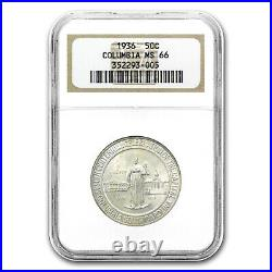 1936 Columbia, SC Half Dollar MS-66 NGC SKU #10811