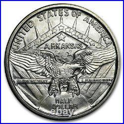 1936-D Arkansas Centennial Half Dollar Commemorative BU SKU#155237