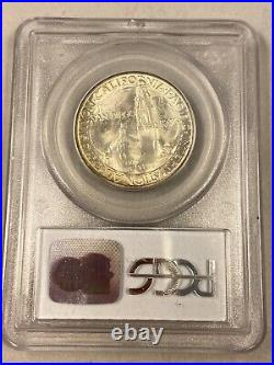 1936-D PCGS MS65 San Diego Commemorative Half Dollar CAC Approved
