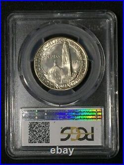 1936-D San Diego Commemorative Half Dollar MS66 PCGS MS 66 Silver 50C Coin