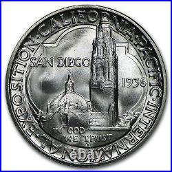 1936-D San Diego Half Dollar Commem BU SKU#97933