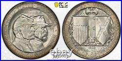 1936 Gettysburg Commemorative 50¢ Half Dollar EYE APPEAL PCGS MS65 GOLD SHIELD