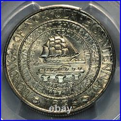 1936 Norfolk Silver Commemorative Half Dollar PCGS MS 67