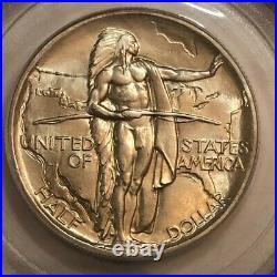 1936 OREGON TRAIL Commemorative half dollar PCGS MS66 #nkr149 old green holder