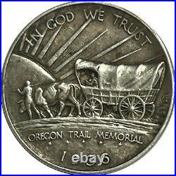 1936 Oregon Trail Classic Commemorative Half Dollar 50C, Extremely Fine XF+