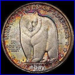 1936-S Bay Bridge Silver Commemorative Half Dollar PCGS MS68 ONLY 2 HIGHER