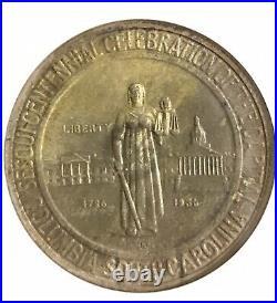 1936 S Columbia Commem Half NGC MS66 Original Toning! Half Dollar Commemorative
