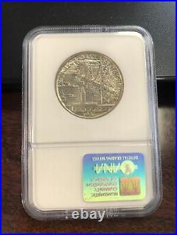 1936-S NGC MS65 Bay Bridge Half Dollar (Silver Commemorative)