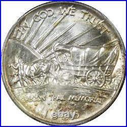 1936 S Oregon Trail Commemorative Half Dollar MS 67 PCGS 90% Silver 50c US Coin