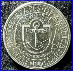 1936-S Rhode Island Uncirculated Commemorative Half Dollar