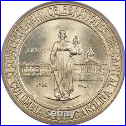 1936-d Columbia Commemorative Half Dollar Pcgs Ms-66, Fresh Gem+