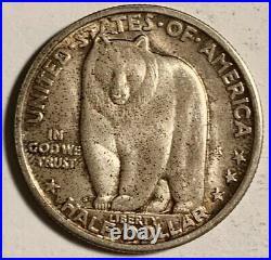 1936S Bay Bridge Silver Commemorative Half Dollar ORIGINAL AU