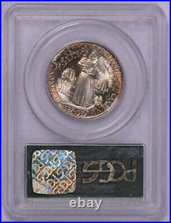 1937 50c PCGS MS 64 Roanoke Commemorative Half Dollar OGH Tab Toning