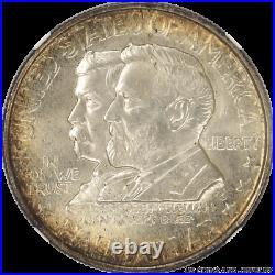 1937 Antietam Half Dollar Commemorative NGC MS66+ Golden Rim Toning