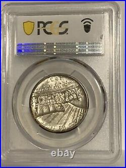 1937 D Oregon Trail Commemorative Half Dollar Silver US Coin PCGS CAC MS 67+