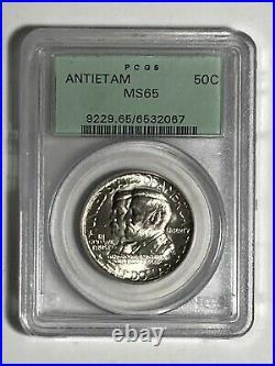 1937 PCGS MS 65 Antietam Commemorative Silver US Half Dollar 50C