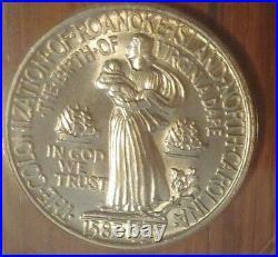 1937 Roanoke Island Silver Liberty Half Dollar 50C ANACS graded MS 62