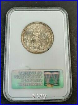 1937 S 50c Texas Silver Commemorative Half Dollar NGC MS 65 K127