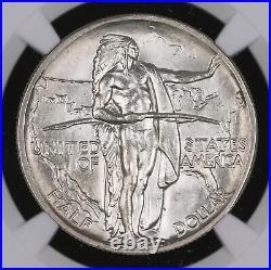1938 Oregon Trail Commemorative Silver Half Dollar Coin Ngc Ms66