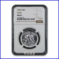 1938-S Texas Centennial Commemorative Half Dollar MS-65 NGC SKU#172788