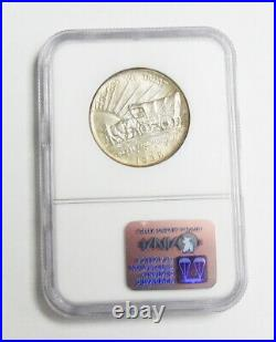1938 US Mint Commemorative 50 Cent Oregon Half Dollar Coin NGC Certified MS66