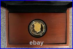 2014 Kennedy 50th Anniversary Gold Half Dollar Proof Coin. 75 oz Gold