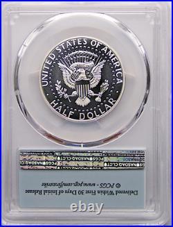 2014 S 50th Ann Enhanced Kennedy Silver 50C PCGS MS70 DMPL First Strike