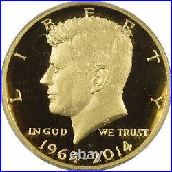 2014-w Kennedy 50th Ann Gold Commem Half Dollar Pcgs Pr-69 Dcam First Strike Pkg