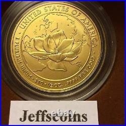 2015 W Jacqueline Kennedy 1/2Oz 24k Gold Unc MS $10 First Spouse Jackie Half JQ6