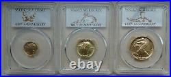 2016 Centennial 100th Anniversary Gold Dime, Quarter and Half Dollar. See desc