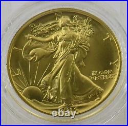 2016 Walking Liberty 1/2 oz Gold. 999 Fine centennial In Box & COA