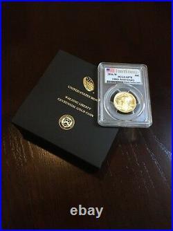 2016 Walking Liberty Centennial Gold PCGS SP70 Half Dollar