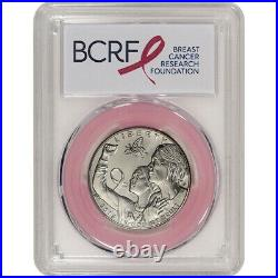 2018-D US Breast Cancer Commemorative BU Half Dollar PCGS MS70 First Strike Pink