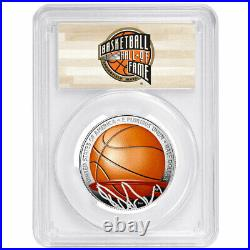 2020-S Proof 50c Basketball Hall of Fame Half Dollar Colorized PCGS PR70DCAM FS