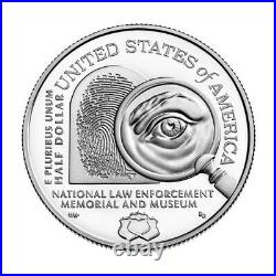 2021 S US National Law Enforcement Commemorative Proof Half Dollar 50C NGC PF70
