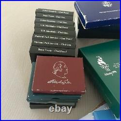 40x Almost Complete Modern Commemorative Half Dollars Lot Proof UNC US Mint OGP