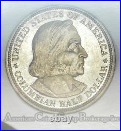 50c Half Dollar 1893 MS62 PL NGC Columbian Scarce proof Like Grade Choice
