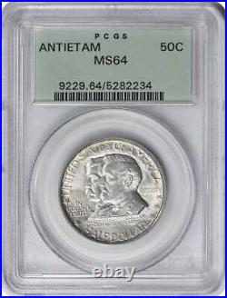 Antietam Commemorative Half Dollar 1937 MS64 PCGS