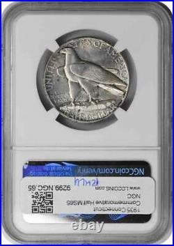 Connecticut Commemorative Half Dollar 1935, MS65, NGC