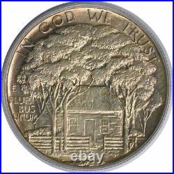 Grant Commemorative Silver Half Dollar Star 1922 MS63 PCGS