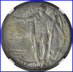Hawaii Commemorative Silver Half Dollar 1928 MS65 NGC