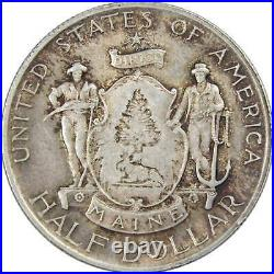 Maine Centennial Commemorative Half Dollar 1920 AU About Uncirculated Silver 50c