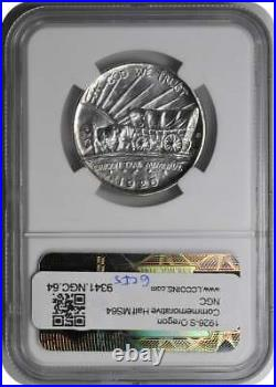 Oregon Commemorative Silver Half Dollar 1926-S MS64 NGC