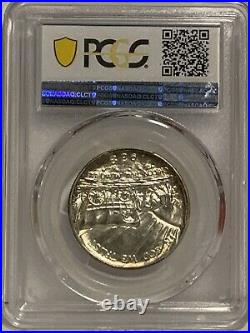 Oregon Trail 1938-D 50C Silver Commemorative PCGS MS67+ (CAC) Half Dollar Coin