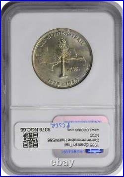 Spanish Trail Commemorative Half Dollar 1935 MS66 NGC