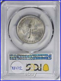 Spanish Trail Commemorative Silver Half Dollar 1935 MS67 PCGS